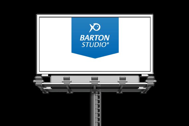 BARTON STUDIO na billboardech aneb letošnímu létu vládne modrobílá