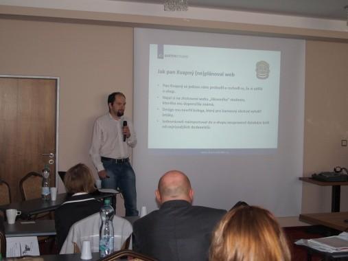 Mezi konferencemi Efektivní web a WebExpo