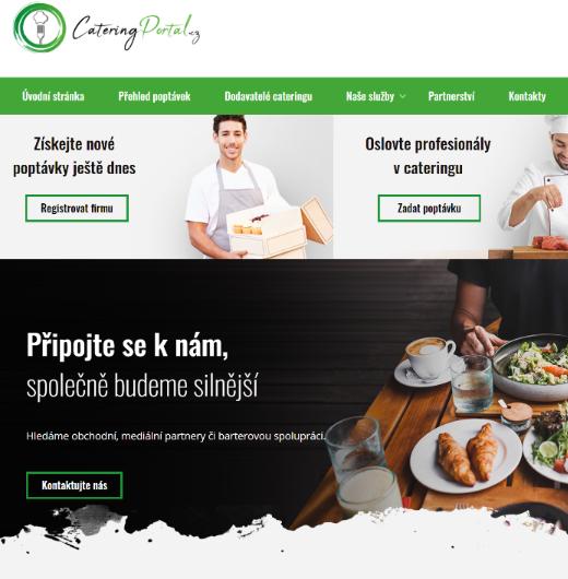 Lepší časy pro catering aneb jak jsme vytvořili Catering Portal